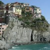 View of Manarola, Italy. Cinque Terre Walking Tour.